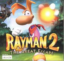 Photo de la boite de Rayman 2 - The Great Escape